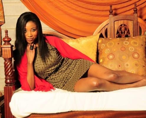 Bidanya Barassa Miss World Kenya