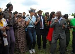 Anti-jigger campaign at Mathira by Cecilia Mwangi
