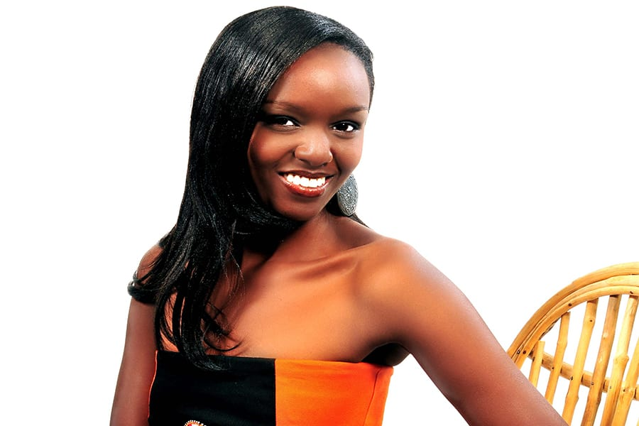 Miss world Kenya 2009 Fiona Konchella