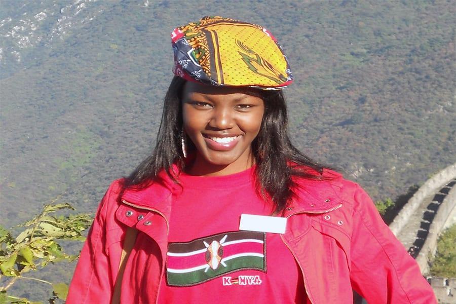 Miss world Kenya 2010 Natasha Metto