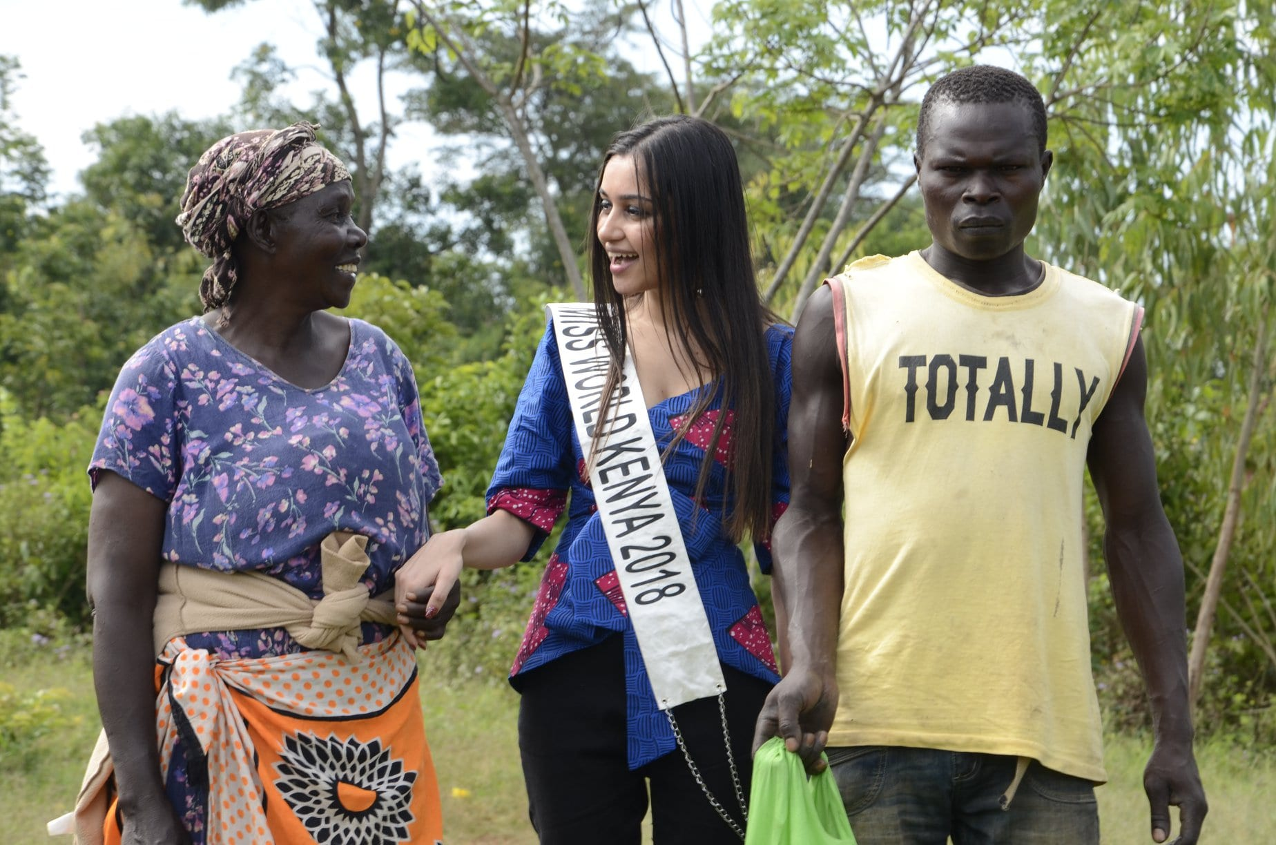 Activism against widow cleansing a project by Miss World Kenya Finali Galaiya