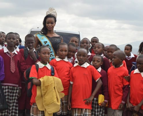 Activism against FGM a beauty with a purpose project by Evelyn Njambi