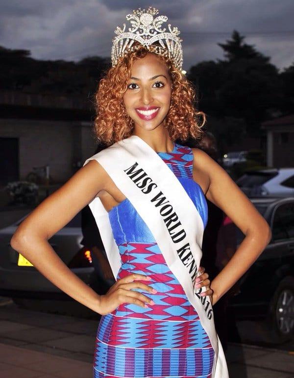 Miss World Kenya 2016 ROSHANARA