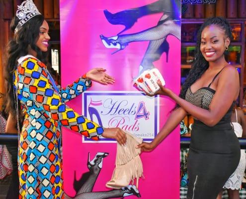 Miss World Kenya 2019 - 2022 Maria Wavinya (Heels for pads)