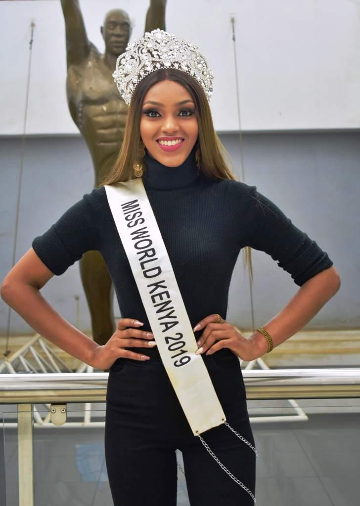 Miss World Kenya 2019 - 2022 Maria Wavinya