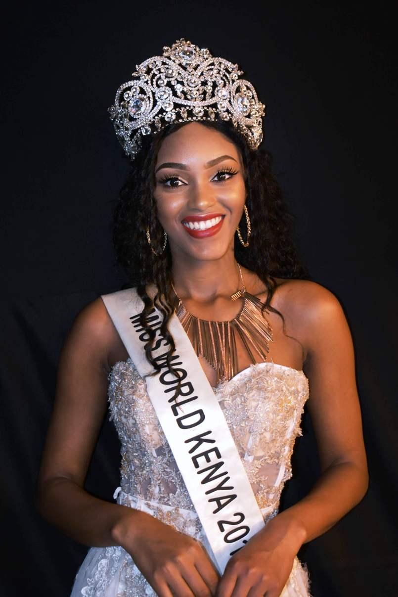 Maria Wavinya Miss World Kenya 2019-2021