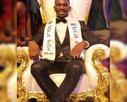 Mr World Kenya Franklyn Asoyo 2019 -2021