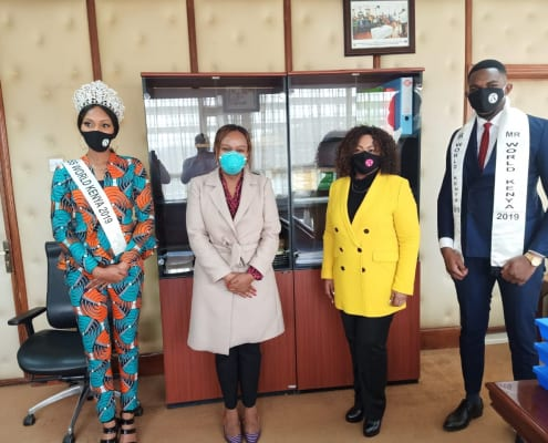 Mr and Miss World Kenya Organisation's update on combatting Covid-19