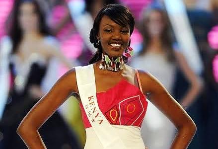 Natasha Metto - Miss World Kenya 2010