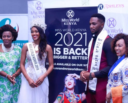 Mr and Miss World Kenya 2021 launch